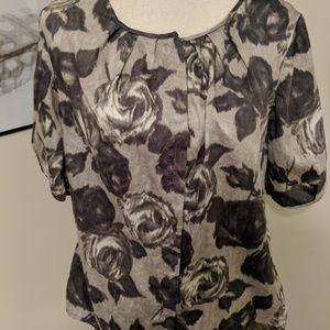 Talbots button-down blouse